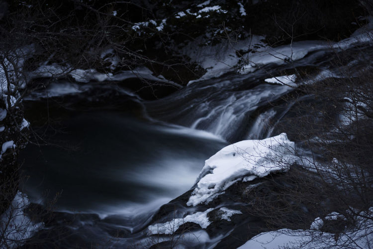 Darkness Landscape Scenery Asdgraphy Sony Sony A6000 Sonyimages Sonyphotography Sonyalpha Alphauniverse Japan Nikko Forest Travel ASIA Trip Long Exposure Holiday Monochrome Nature Waterfall No People Beauty In Nature Winter Outdoors Landscape Cold Temperature Night Snow Scenics Water Shades Of Winter The Great Outdoors - 2018 EyeEm Awards The Creative - 2018 EyeEm Awards