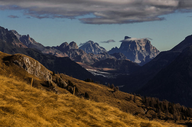 South Tyrol, Latema Area Landscape Mountain Range Mountain Peak Outdoors No People Travel Destinations Beauty In Nature