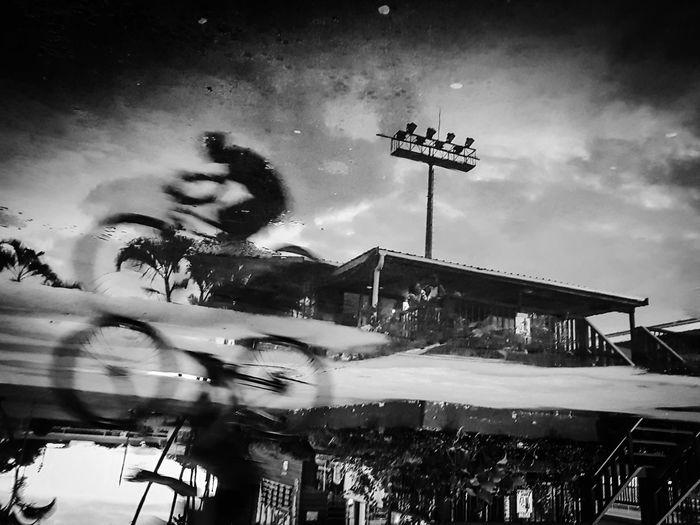 Monochrome Photography Puddle Blackandwhite Streetphotography SUVA FIJI ISLANDS Street Photography Black & White