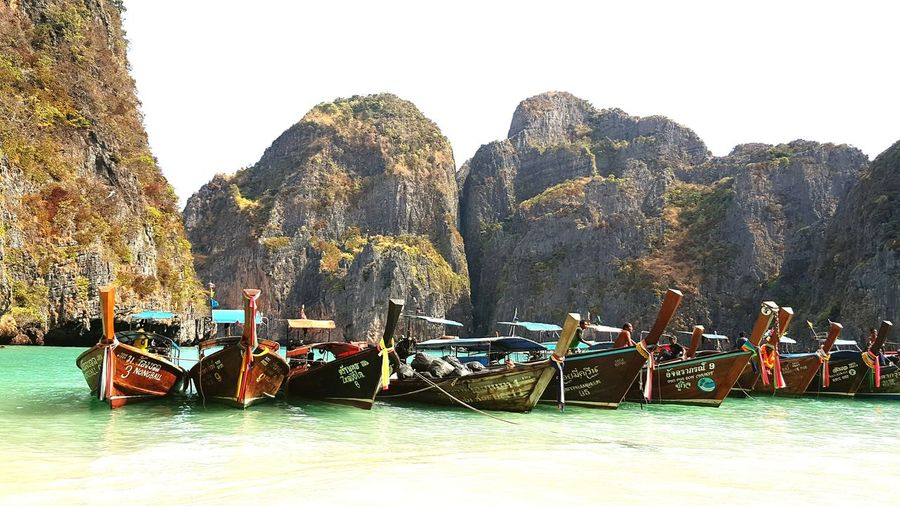The Great Outdoors With Adobe The Beach  The Beach Life Beach Sea Side The Great Outdoors - 2016 EyeEm Awards Boats Longtail Boats Andaman Sea Thailand Thai Beach Thai Beauty Nature Ocean Sea View Ocean And Sky Ocean View Beach Day Beach Life Island Life Islandlife Island Seaside Sand Vacation
