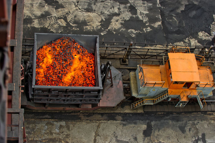 NLMK, Altai coke plant, Russia, metallurgy, wewalka coke from ovens Burning Day Fire - Natural Phenomenon Flame Messy NLMK, Altai Coke Plant, Russia, Metallurgy, Wewalka Coke From Ovens No People Orange Color Outdoors
