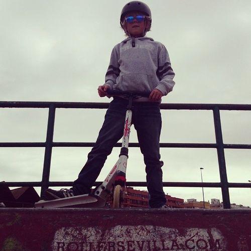 King of the Park. Sevilla Skatepark Supersønn