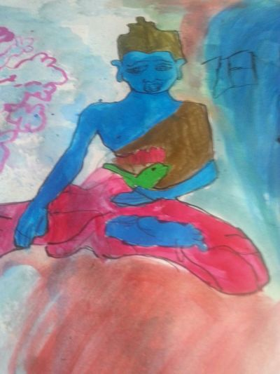 Eyencreative Enjoying Life Eyemcreation Encreaquarelle Ink Couleurs Getting Inspired Meditation Colorful Multicolor