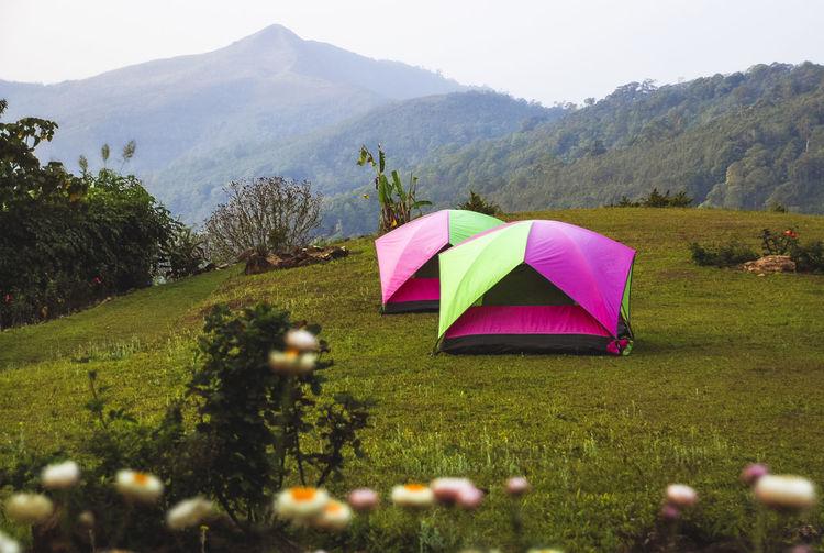 Doi kat camping area, nanthaburi national park nan thailand