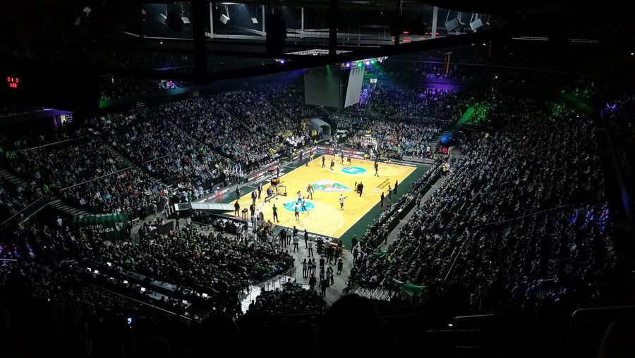 Game Of The Week Awesome Atmosphere Basketball Euroleague Friday Zalgirio Arena Žalgiris Crowd