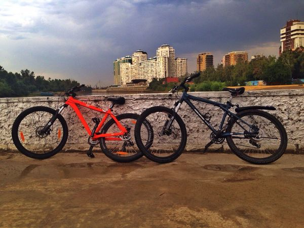 Bicycle Bike Sky City