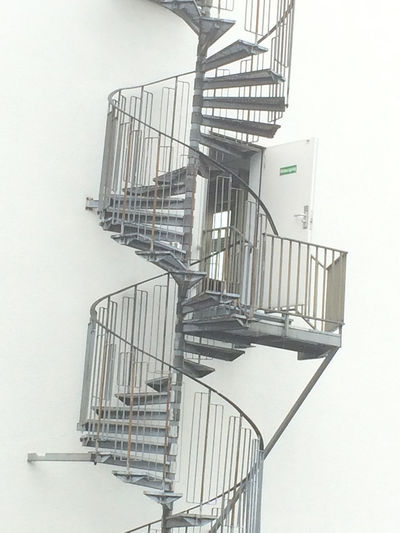 Day Development Empty Ladder Low Angle View No People Outdoors Repetition Sky Spiral Staircase Stairs The Week On EyeEm