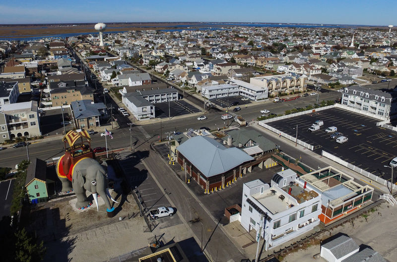 Lucy the Elephant from above Aerial Shot Aerial View Architecture Cityscape Drone  Dronephotography High Angle View Lucy Margate Travel Destinations