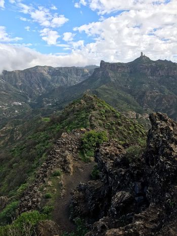 Gran Canaria Roque Nublo Mountain Beauty In Nature Nature Sky Day Outdoors Landscape No People
