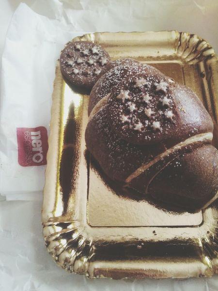 Cornetto Pan di stelle ♥ Cornetto Pandistelle Croissant Morning
