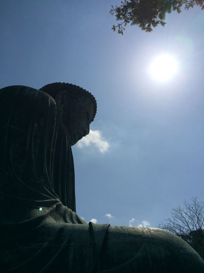 鎌倉 大仏 高徳院 Nippon ソラ Sky 日本 The Great Buddha Of Kamakura