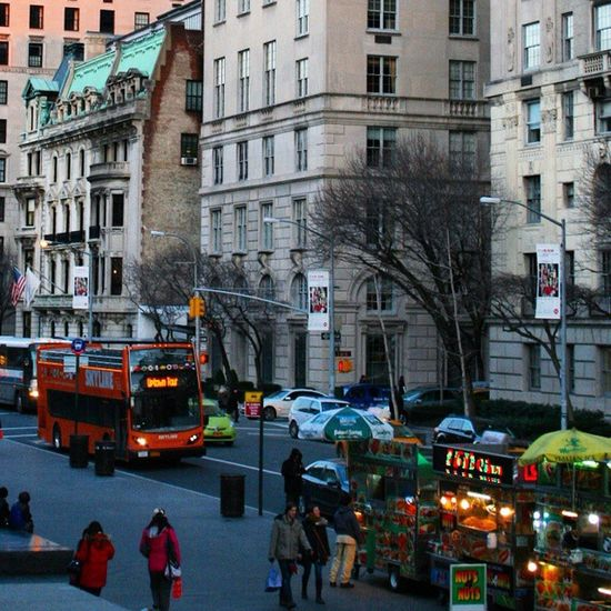 Ohhhhh God! How I miss this City , its Citylights and Streetfood NYC