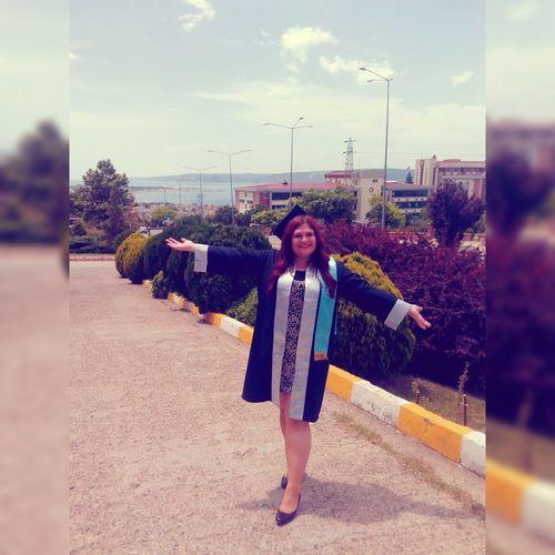çanakkaleyi Iste Bukadar özleyeceğim Temalı 🙋🎓🔚⏳😊😢 University Graduation çomu Fef Goodday