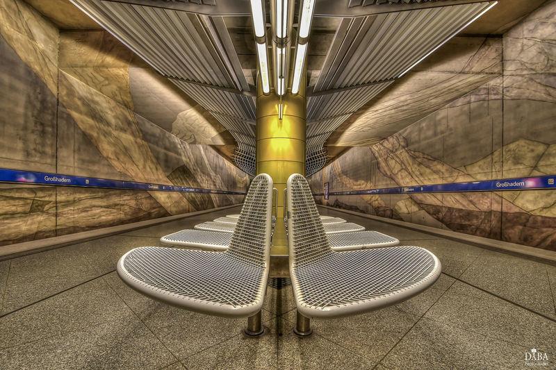 HDR München Munich Architecture No People Rail Transportation Railroad Station Station Subway Subway Station