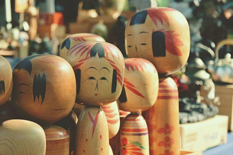 こけし Cheese! Japanese Culture Japan Japanese Girl Nostalgia Flea Markets Eye4photography  Simplicity