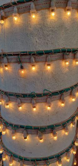 Illuminated Luminosity Lighting Equipment Glowing Burning Flame Close-up