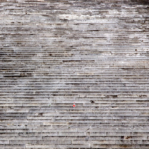 Full frame shot of marble steps