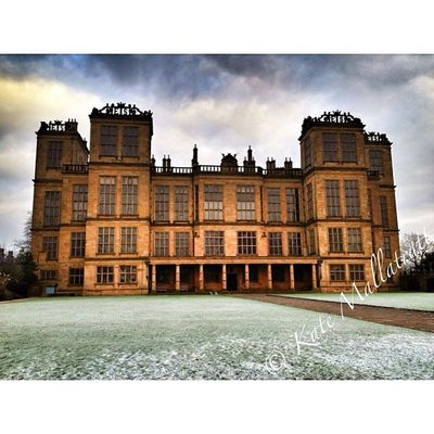 Squaready Hardwick Hardwickhall HDR Snapseed K8marieuk Derby Derbyshire House 121212 Frost Frosty December Winter Igers Igaddict IPhone4s Instagood Instadaily Instacccover Instagrammers