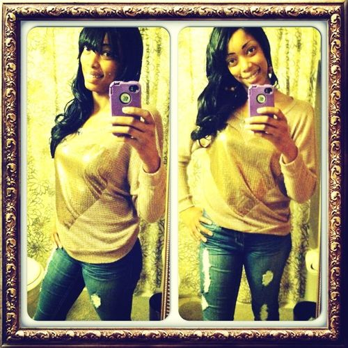My First Mirror Pic❤lol