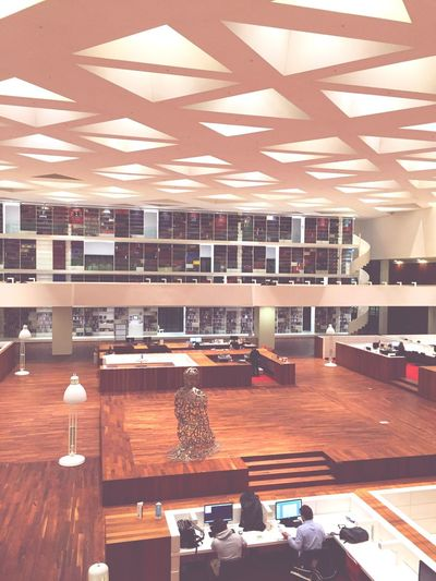 The Color Of School The Medical Library of the Erasmus University Rotterdam. Rotterdam Architecture City Library Studying Books University