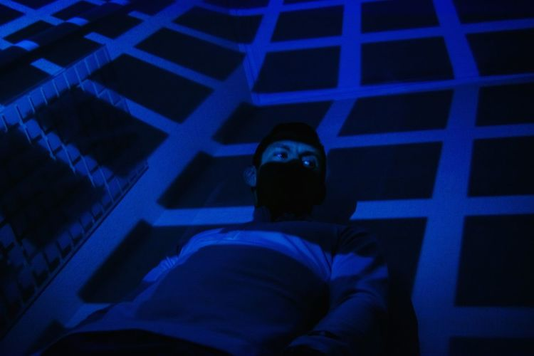 Indoors  Creative Light And Shadow Eyes Lattice Abstract Shadow Abstract Light Light And Shadow Lifestyles Portrait Eyes Into The Darkness  View One Person Illuminated Futuristic Technology Human Body Part Prison Art Light In The Darkness Indoors  Beauty Light Game Eyeem Photo Night The Week On EyeEm From My Point Of View AI Now EyeEm Ready   The Portraitist - 2018 EyeEm Awards