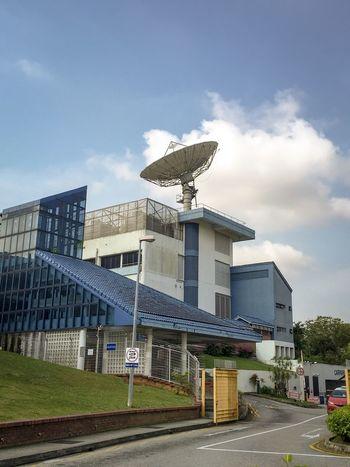 Television Broadcast Antenna Broadcasting Tower Satellite Dish Landmark Singapore