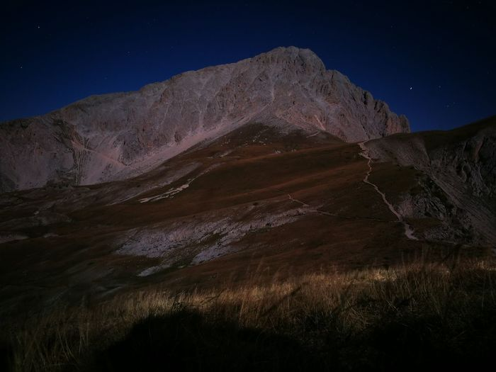 Night Astronomy Landscape Nature The Great Outdoors - 2017 EyeEm Awards Campo Imperatore Beauty In Nature Gran Sasso D'Italia Abruzzo Travel Destinations 2912 S.l.m. Horizon Outdoors Mountain Nature Sky