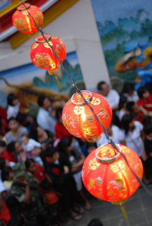 lantern chinnese festival indonesia Lanterns Bogor Indonesia Celebration Celebration Event Chinese Lantern Chinese Lantern Festival Chinese New Year Close-up Cultures Day Focus On Foreground Hanging Holiday - Event Jack O Lantern Lantern No People Orange Color Outdoors Paper Lantern Tradition Traditional Festival