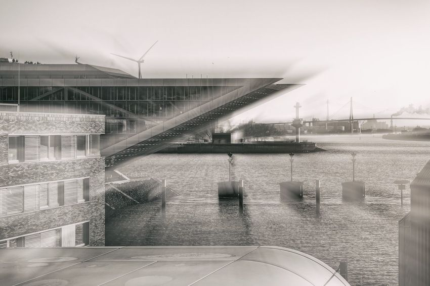 Dockland Hamburg Leica CL Leicacamera Blackandwhite Monochrome Altona Hamburg Architecture