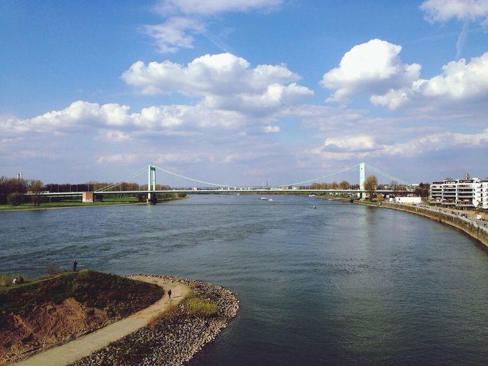 Köln Mühlheimerbrücke Bridge Bridge View Bridgesaroundtheworld
