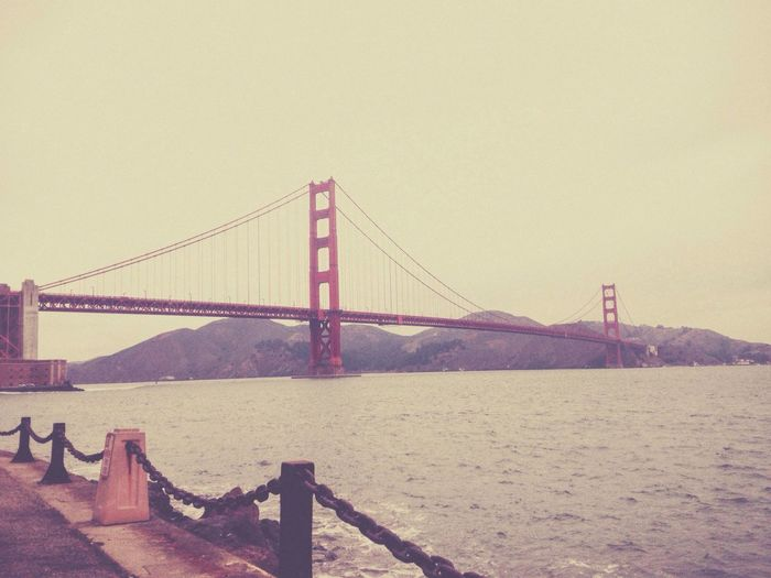 Another view of the Golden Gate IPhoneography San Francisco Throwback