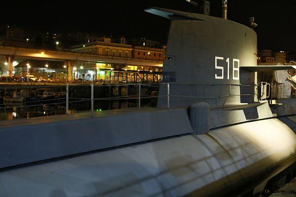 Submarine Built Structure Cityscape Illuminated 3XPUnity 3XPSUnity Night Expo Genova