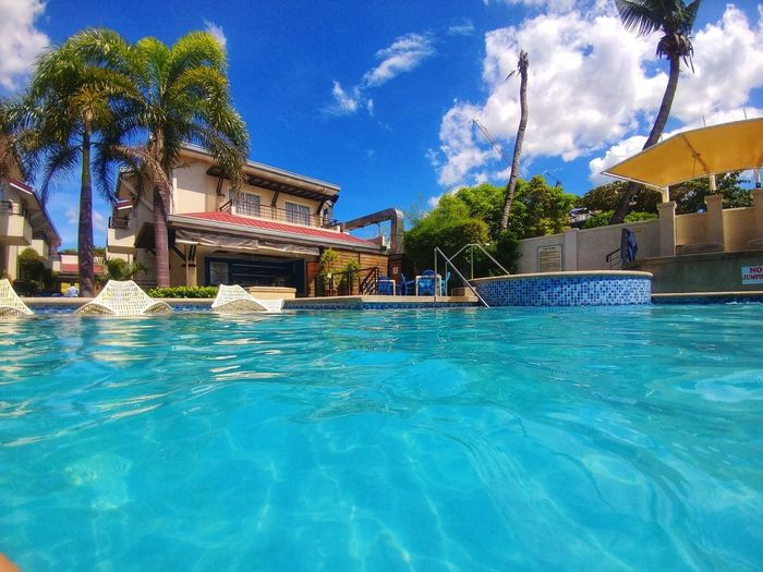 Eyeem Philippines Sky And Clouds Swimming Pool Vacations Blue Color Outdoors