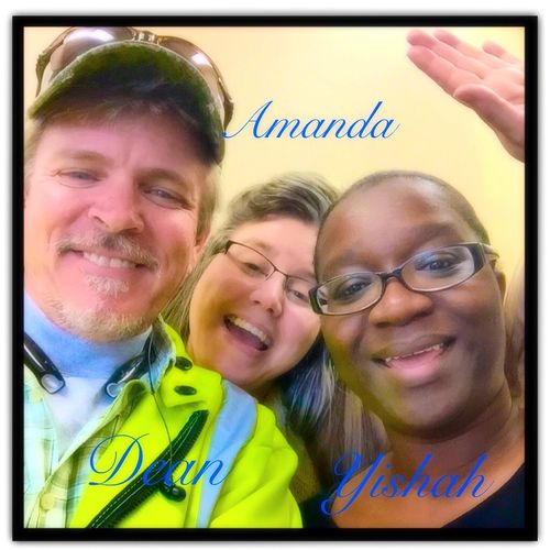 I miss working with these two great ladies, Amanda and Yishah