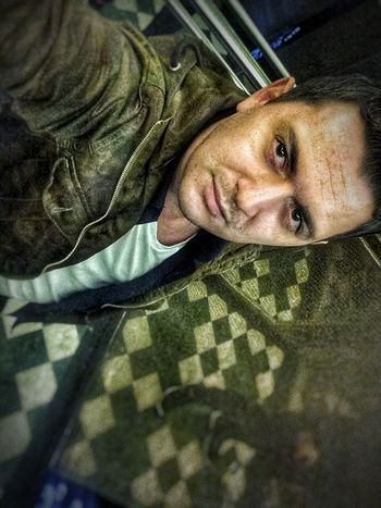Looking At Camera Portrait One Person Indoors  Lifestyles Bed Front View Person Close-up Bedroom Only Men Adult Young Adult One Man Only People Day Mammal Camouflage Clothing