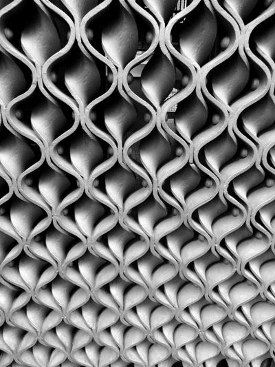 gate Antoni Gaudí Barcelona Black And White Pattern SPAIN Steel Streetphotography Workmanship