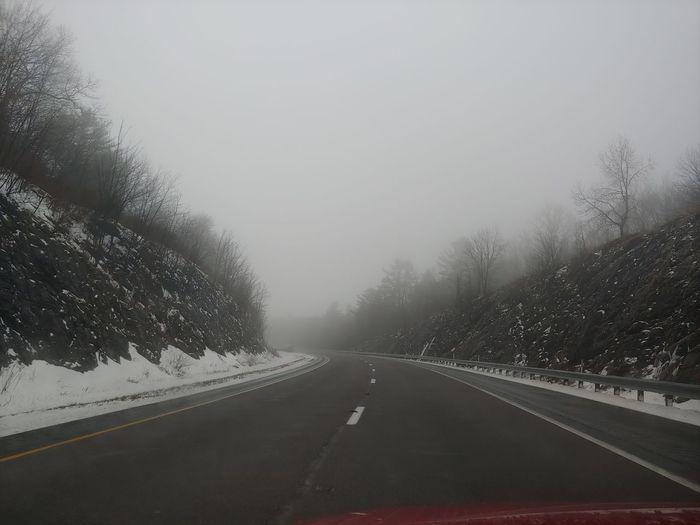 winding fog
