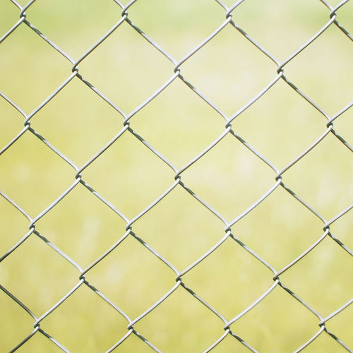 Not afraid Backgrounds Bokeh Chainlink Fence Close-up Fence No People Outdoors Protection Safety Vintage