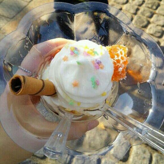 벌집 아이스크림 전주