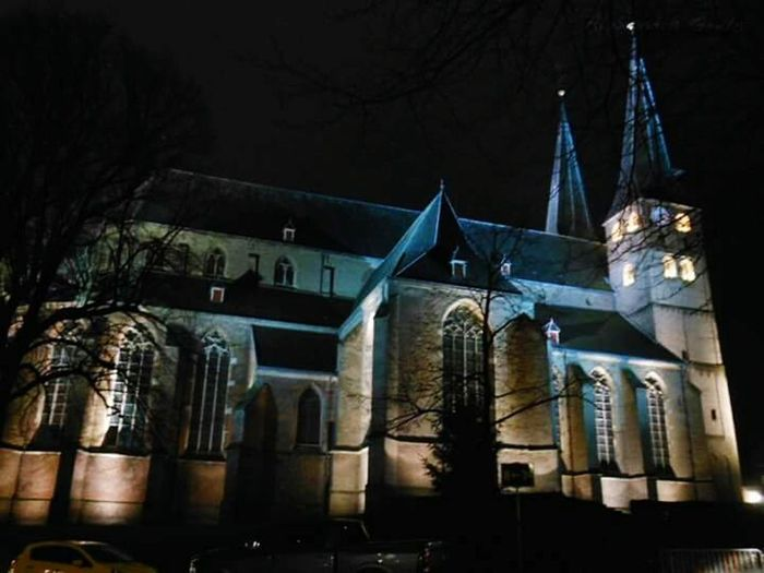 Night Architecture Building Exterior No People Built Structure Church Bergkerk EyeEmNewHere