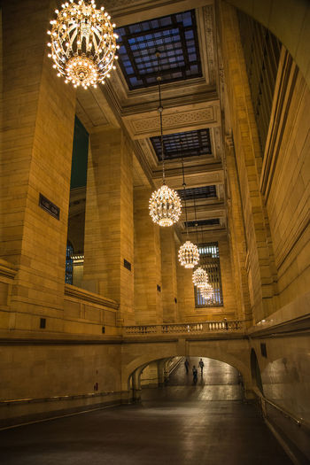 Grand Central Station Grand Central Night Tales Architecture Built Structure Ceiling Chandelier Illuminated Indoors  Light Luxury New York City Photos Night Old Fashion