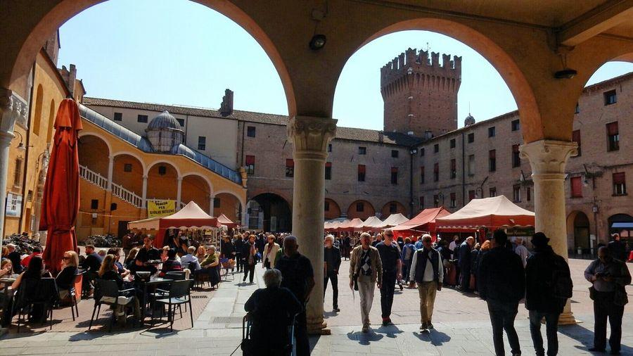 FerraraCity Italy❤️ Architecture Piazza