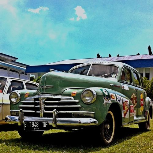 """""""Chevy Fleetmaster48"""" PPMKI Trans Sulawesi Classic Cars Vintagecars Old Mobiles"""