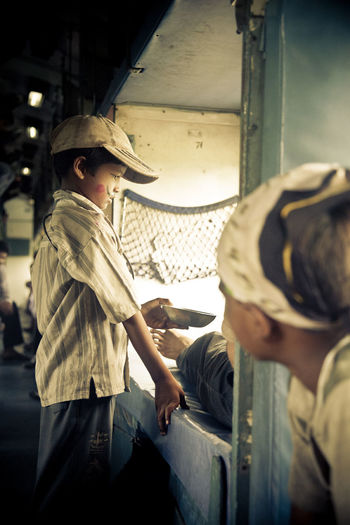 EyeEmNewHere India Train Begging For Money Real People Children First Eyeem Photo