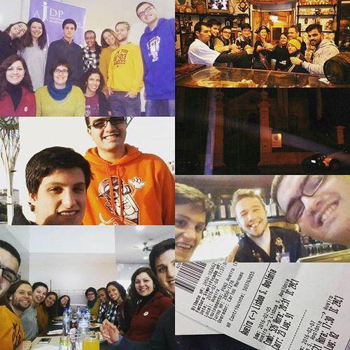 Palavras para quê?! :-) Não menosprezando a minha família, com a qual tenho muito apreço, foi um fim de semana que passei com a minha segunda família, onde tenho grandes amizades e sinto que tenho crescido como pessoa de cada vez que passo alguns momentos assim. Foi aprendizagem, foi amizade, foi medo, foi diversão, foi viver de perto o futsal, foi tudo isto e muito mais num fim de semana. :-) Ajdp Diaeuro Casaassombrada Sintra Amizadesparaavida Ajdpescolas @ajovensdiabeticosp