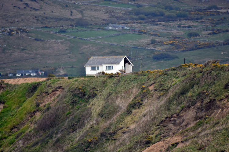 Anglesy Hillside Isolated Lonely Cottage North Wales Peaceful Quiet Wales White House