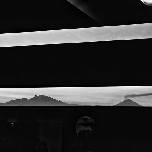 Night Built Structure Architecture No People Indoors  El Popocatepetl Iztlacihuatl  Black And White Collection  Blackandwhite Photography Blackandwhite