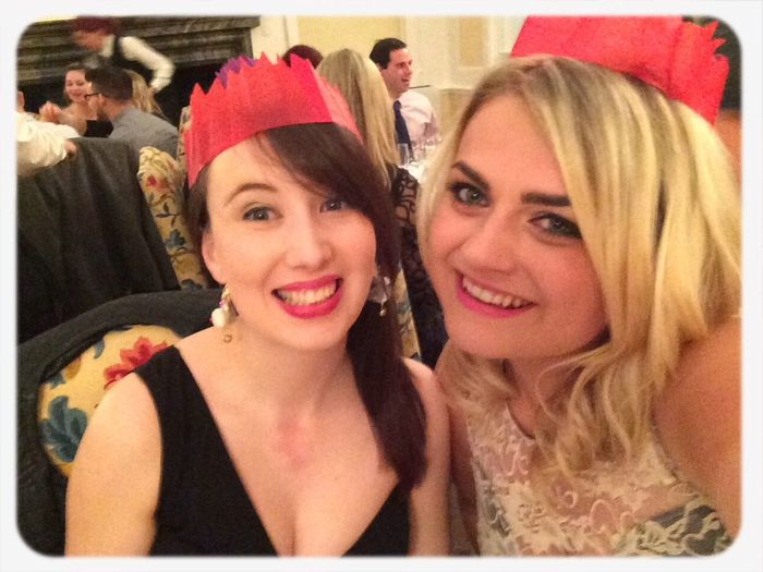 Get yo christmas hats on...! Yaaaay I love christmas Christmas Party Blonde Drunk