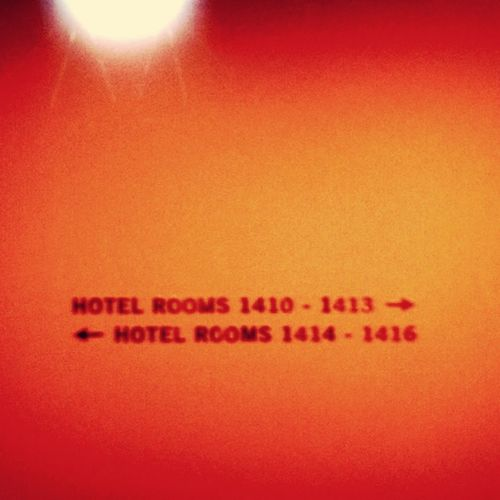 Checking In Tired Where Is The Key Hotel Room Orange By Motorola