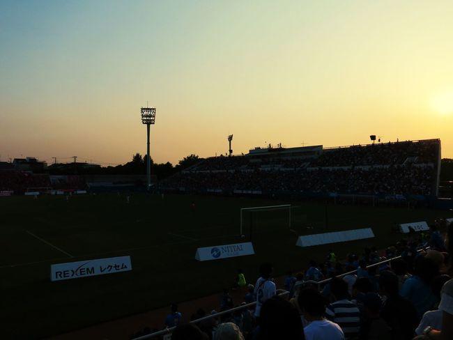 スタジアムでのこの時間が好き Magic Hour Soccer Life Stadium Sky_collection Yokohama FC Cerezo Osaka